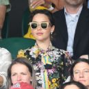 Emilia Clarke – Mens Singles Final at Wimbledon Tennis Championships in London - 454 x 574