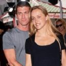 Joe Lando and Kirsten Barlow
