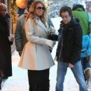 Mariah Carey out shopping at a jewelry store in Aspen, Colorado on December 23, 2014