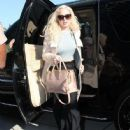Lindsay Lohan Arrives At Court For Her Probation Report