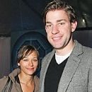Rashida Jones and John Krasinski