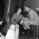 Laraine Day and Leo Durocher