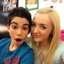 Cameron Boyce and Peyton List - 454 x 605