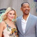 Margot Robbie and Will Smith - August 3, 2016- 'Suicide Squad' - European Premiere - Red Carpet Arrivals - 454 x 325