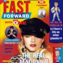 Madonna - Fast Forward Magazine Cover [United Kingdom] (6 May 1992)