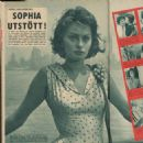 Sophia Loren - Aret Runt Magazine Pictorial [Sweden] (12 March 1959) - 454 x 457