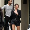 Chrissy Teigen at the Frost Science Museum in Miami