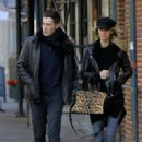 Nicky Hilton and her husband James Rothschild – Out in New York City - 454 x 681