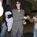Katy Perry's Land Down Under Arrival