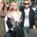 Avril Lavigne and Deryck Whibley