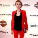 Scarlett Johansson wears Michael Kors - 'Captain America: The Winter Soldier' Paris Premiere