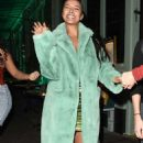 Maya Jama – Leaves S*** Fish restaurant in Mayfair - 454 x 794