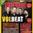 Anders Kjølholm, Michael Poulsen, Jon Larsen, Rob Caggiano - Rock Hard Magazine Cover [Germany] (April 2013)