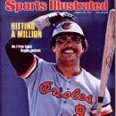 Reggie Jackson - Sports Illustrated Magazine Cover [United States] (30 August 1976)