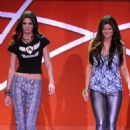 Kendall and Kylie Jenner at the 19th Annual Race to Erase MS (May 18) and posing for Seventeen