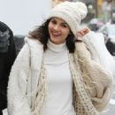 Victoria Justice Street Style Out and About In Soho