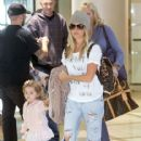 Ashley Tisdale: arrives at LAX