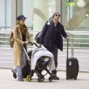 Nikki Reed and Ian Somerhalder – Arriving in Toronto - 454 x 461