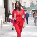 Padma Lakshmi – Leaving the Power of Women Luncheon in NYC - 454 x 683