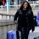 Otlile Mabuse – Arriving for Practice in Manchester