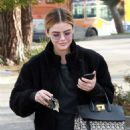Lucy Hale in Black Outfit – Out in Studio City