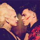 Lady Gaga and Finn Wittrock