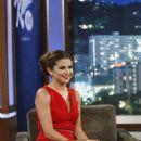 Selena Gomez at Jimmy Kimmel Live August 1, 2013 Hollywood CA