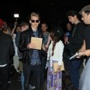 Vanessa Hudgens and Austin Butler leaving the Rolling Stones concert in Los Angeles, CA (May 3)