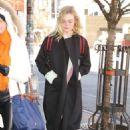 Elle Fanning – Returning to her hotel in NYC