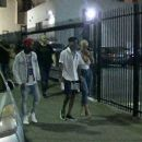 Amber Rose and 21 Savage Leaving the Belasco Theater in Los Angeles, California - June 22, 2017