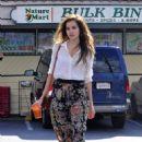 Isabel Lucas - at Nature Mart in Los Feliz - 23/11/10