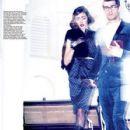 Liu Dan Harpers Bazaar Magazine Pictorial December 2009 Singapore - 427 x 600