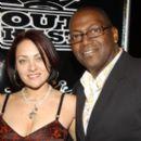 Randy Jackson and Erika Riker