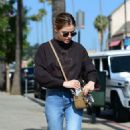 Lucy Hale in Jeans – Out and about in Los Angeles