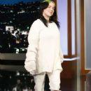 Billie Eilish on Jimmy Kimmel Live Show in LA