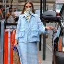 Olivia Palermo – Seen after business meeting in Manhattan