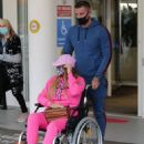 Katie Price – Is seen at the Chelsea and Westminster hospital - 454 x 595