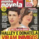 Cauã Reymond, Cláudia Raia, Fábio Assunção, A Favorita - Minha Novela Magazine Cover [Brazil] (3 October 2008)