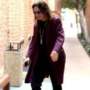 Musician Ozzy Osbourne is all smiles as he leaves a doctors office in Beverly Hills, California on February 27, 2017 - 412 x 600