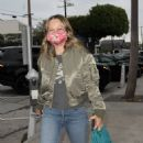 Jennifer Meyer – In Alpha MA-1 at Craig's in West Hollywood - 454 x 843