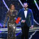 Jennifer Lopez and Chris Evans At The 91st Annual Academy Awards - Show - 400 x 600