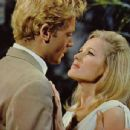 Ursula Andress and John Richardson