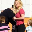 Britney Spears: Family Bowling Fun