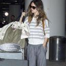 Rachel Bilson Arriving At LAX