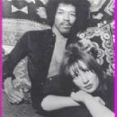 Jimi Hendrix and Kathy Etchingham - 290 x 312