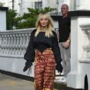 Rita Ora – Leaving her home in London