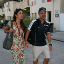 Rubens Barrichello and Silvana Barrichello - 454 x 681