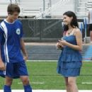 Naomi Scott and Nick Roux