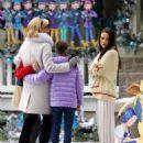 Mila Kunis – Filming 'A Bad Moms Christmas' set in Atlanta - 454 x 650