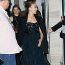 Scarlett Johansson – Leaving Lincoln Center at 57th New York Film Festival in New York